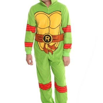 Teenage Mutant Ninja Turtles Raphael Hooded Pajamas