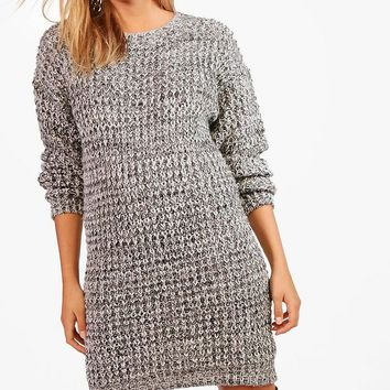 Charlotte Turn Up Cuff Soft Knit Slouchy Jumper | Boohoo