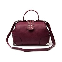 Stud Flap Bag