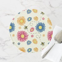 Spring Colors Cake Stand