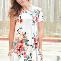 Brand New Day Dress - Ivory