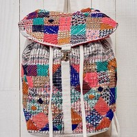 Multi Embroidered and Beaded Boho Backpack