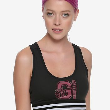 Harry Potter Gryffindor Low-Impact Sports Bra