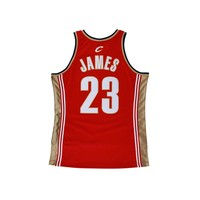 Original NBA Jerseys Number 23 M&N AUTHENTIC PlayerVersion Retro Jerseys Cleveland Cavaliers Lebron James Men's Jerseys