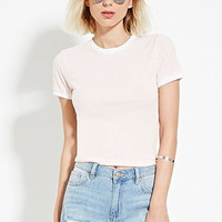 Boxy Ribbed Top