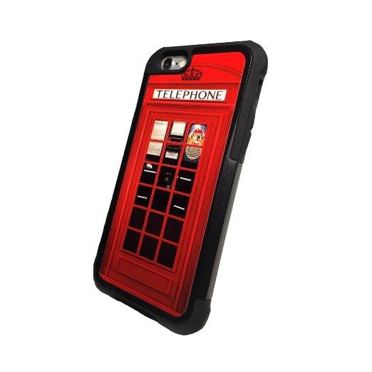 Red Vintage London British Phone Booth From Amazon Iphone 6