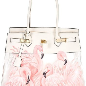 Le Reve Edition Flamingo Bag