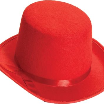 Top Hat Adult Red