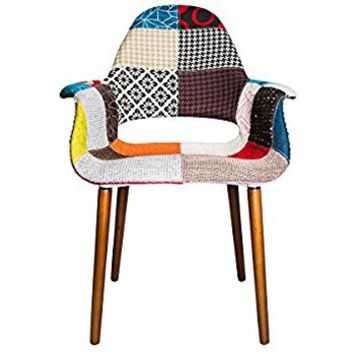 Tribeca Organic Arm Chair (Patchwork, 1)