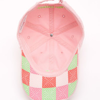 Shop Twill Hat with Neon Whales at vineyard vines