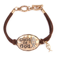 Child of God Charm Bracelet