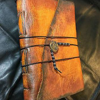 Medieval Leather Journals, 6x9 Handmade.
