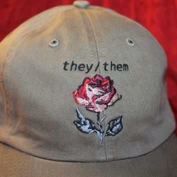 they/them hat (U.S. SHIPPING ONLY)