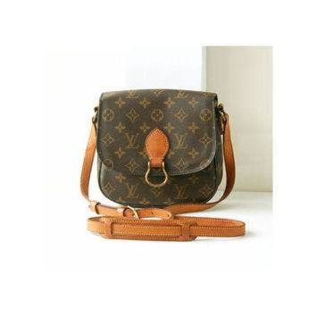 PEAPYD9 auth Louis Vuitton Monogram st.cloud shoulder bag vintage authentic rare purse w.germa