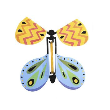 Flying Butterfly Classic Wind Up Swallow Tail Butterfly - Close Up Magic Set Funny Toy For Romatic Wedding