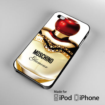 Moschino Perfume Glamour A0824 iPhone 4 4S 5 5S 5C 6, iPod Touch 4 5 Cases
