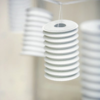 White Lantern Garland - Lanterns and Garden Lights ? Cox & Cox, the difference between house and home.