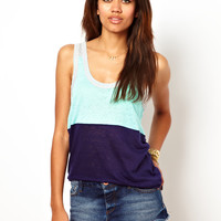 River Island Colour Block Vest