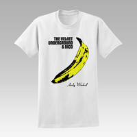 Andy Warhol Velvet Underground  For T-Shirt Unisex Aduls size S-2XL