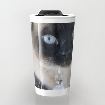 Innocent Expression Travel Mug by Theresa Campbell D'August Art