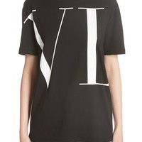 Valentino Logo Letters Tee | Nordstrom