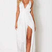 Akela Maxi Dress White