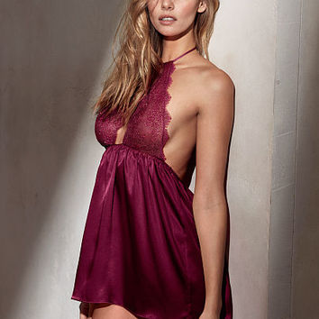 Chantilly Lace & Satin Babydoll - Very Sexy - Victoria's Secret