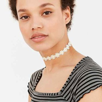 Daisy Chain Choker Necklace