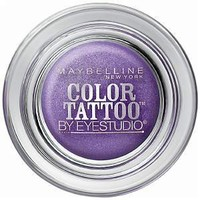 Maybelline EyeStudio Color Tattoo 24Hr Eyeshadow, Painted Purple