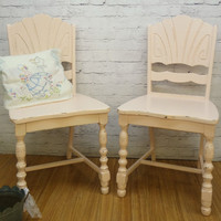 Shabby Chic Furniture - Pink Chairs