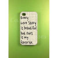 Iphone 4s Case - Our Story Iphone Case, Iphone 4 Case: Cell Phones & Accessories