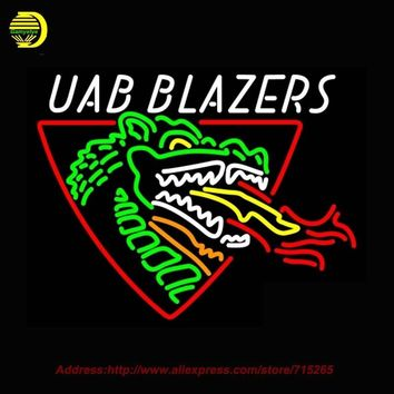 UBA Blazers NCAA Glass Tube Neon Signs 31x24