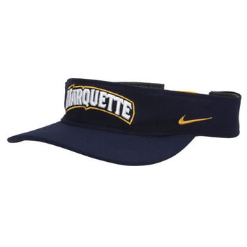 Marquette Golden Eagles Nike Training Performance Visor – Navy Blue
