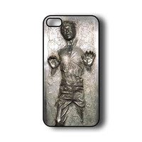 Han Solo Carbonite Customized Phone Case for iPhone i4 4s 5 5s 5c 6 6plus