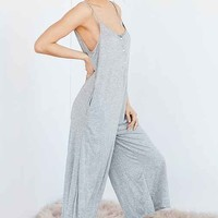 Out From Under PJ Cropped Jumpsuit