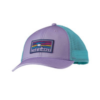 Patagonia Live Simply Sunset LoPro Trucker Hat- Ploy Purple