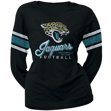 Jacksonville Jaguars - Homerun Premium Juniors Long Sleeve T-Shirt