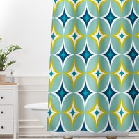 Heather Dutton Astral Slingshot Shower Curtain And Mat