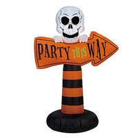Halloween Outdoor Decor Decoration Inflatable Party Direction Sign
