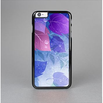 The Magical Abstract Pink & Blue Floral Skin-Sert Case for the Apple iPhone 6 Plus
