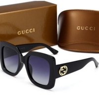 GUCCI Unique Cute Sunglasses