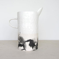 Pinched Porcelain Pitcher - Made to Order