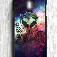 Alien Galaxy Nebula Samsung Galaxy Note 3 Case