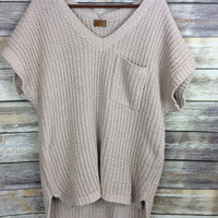 Knit Sweater Tunic