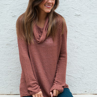 Long Time Love Sweater, Brown