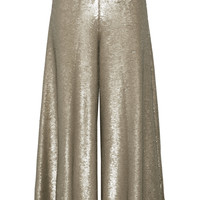 Temperley London - Sequined stretch-knit wide-leg pants