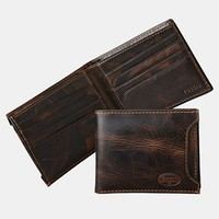 Men's Fossil 'Norton' Wallet with Sliding ID Window