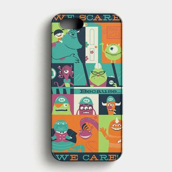 Monster Inc Quotes iPhone SE Case