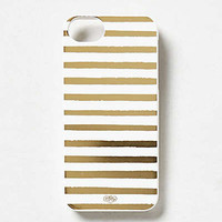 Anthropologie - Metallic Stripes iPhone 5 Case