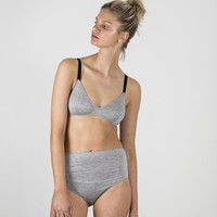 Triangle Bra - Grey Marle